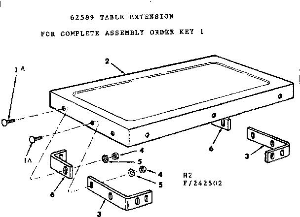 CRAFTSMAN Craftsman 12-inch Motorized Table Saw Parts   Model