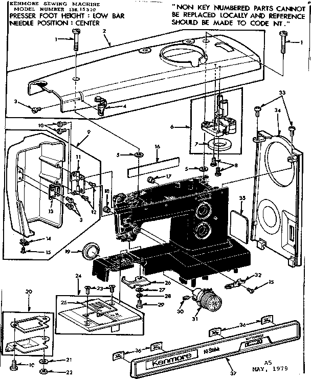 Sew Machine Motor Wire Diagram 3