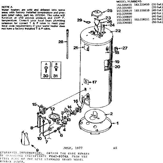 Kenmore 183336011 replacement parts diagram