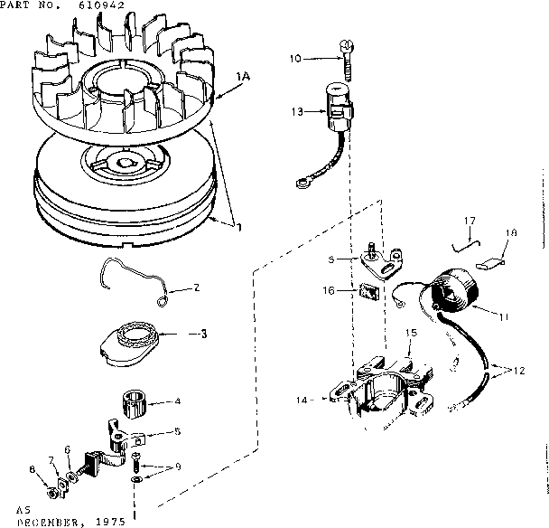 Craftsman 143257062 magneto diagram
