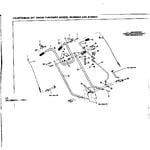 Craftsman 536918003 handle assembly diagram