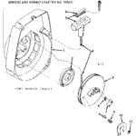Craftsman 917352030 rewind starter diagram