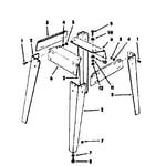 Craftsman 113241691 legs diagram