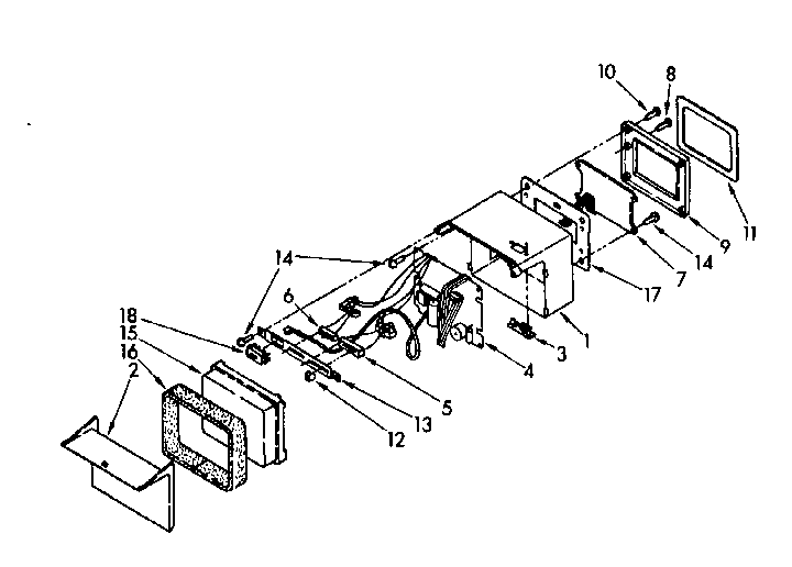 Kenmore 1068556930 solid state parts diagram