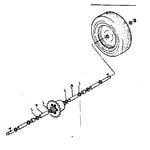 Craftsman 13196500 spacer kit - part no. 62714 diagram