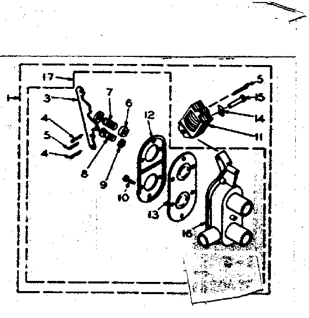 Kenmore 1106205205 two way valve assembly diagram