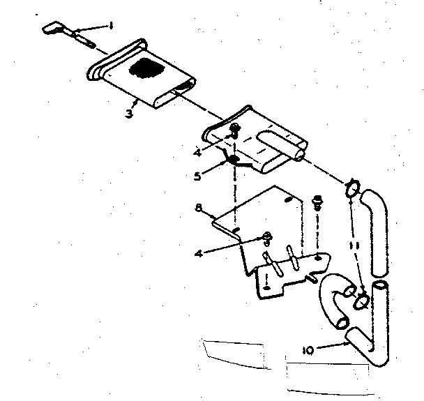 Kenmore 1106205704 filter assembly diagram