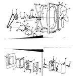 Kenmore 758638000 functional replacement parts diagram