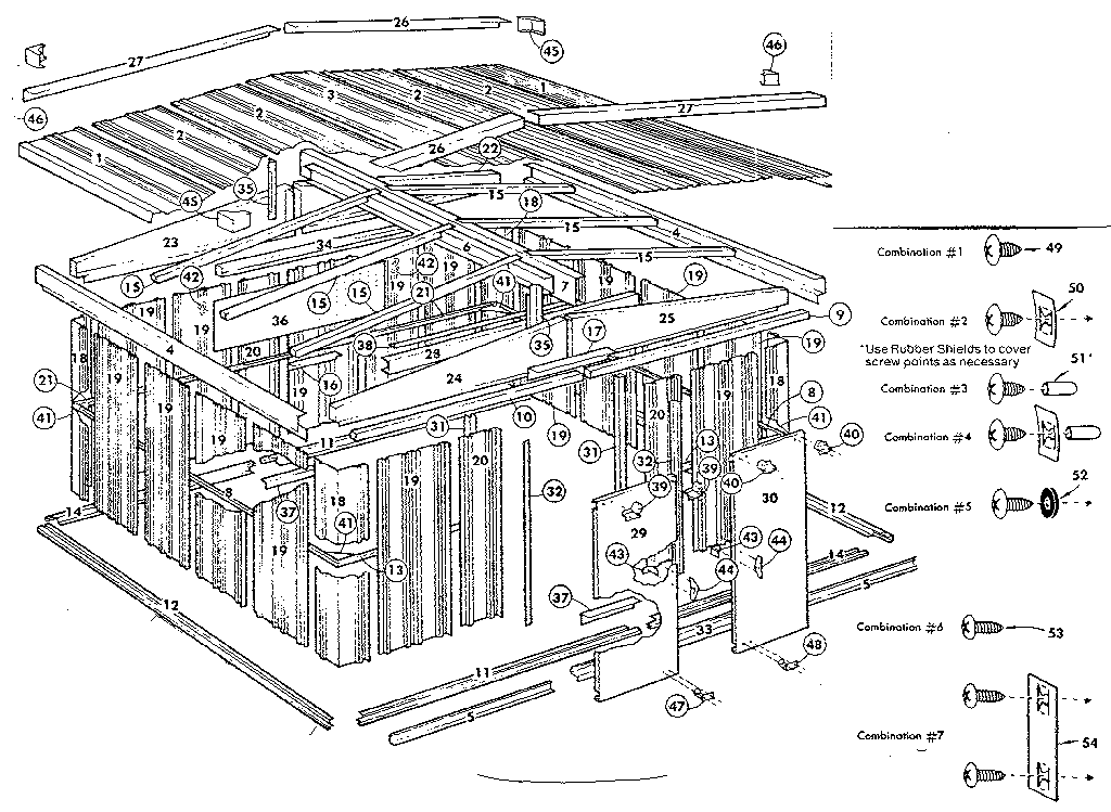 Sears 69660059 replacement parts diagram