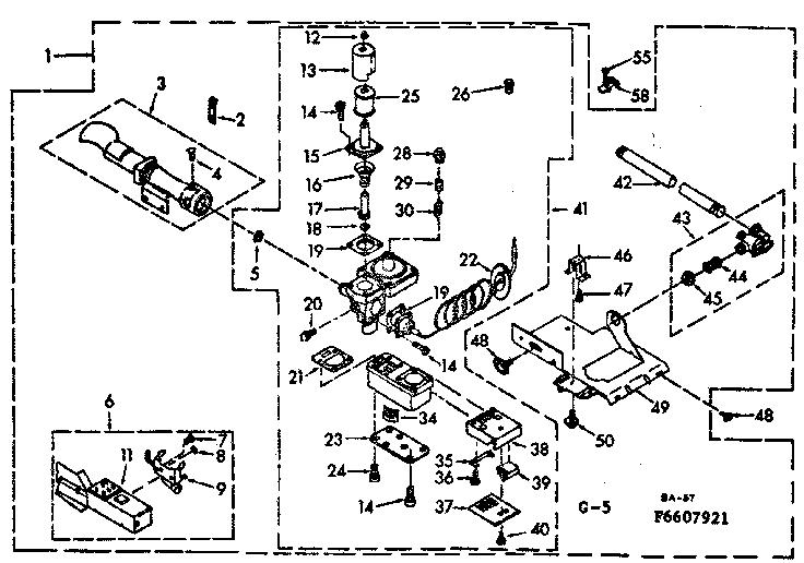 Kenmore  Kenmore Gas Dryer  Burner assembly