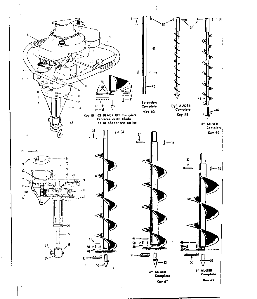 Sears 147142002 replacement parts diagram