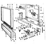 Kenmore 58771131 door & access panel details diagram