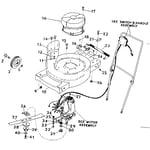 Craftsman 31591390 mower housing diagram