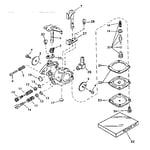 Craftsman 917350720 carburetor no. 631495 diagram