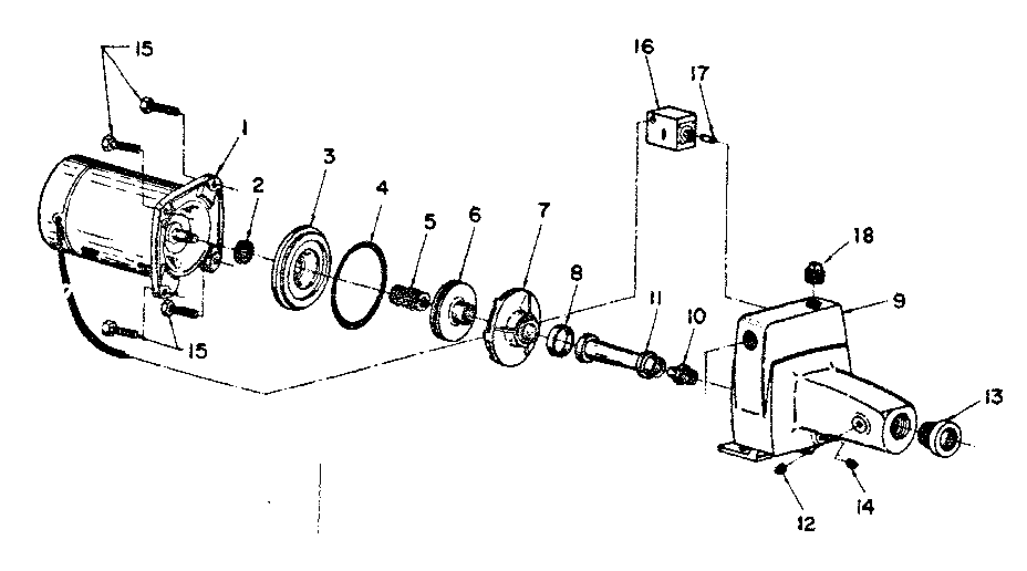 Sears 39025020 replacement parts diagram