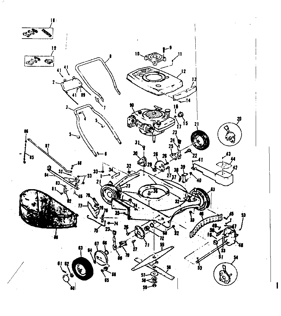 Craftsman 13197776 replacement parts diagram