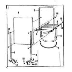 Craftsman 53680332 replacement parts diagram