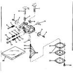 Craftsman 143161192 carburetor no. 630986 diagram