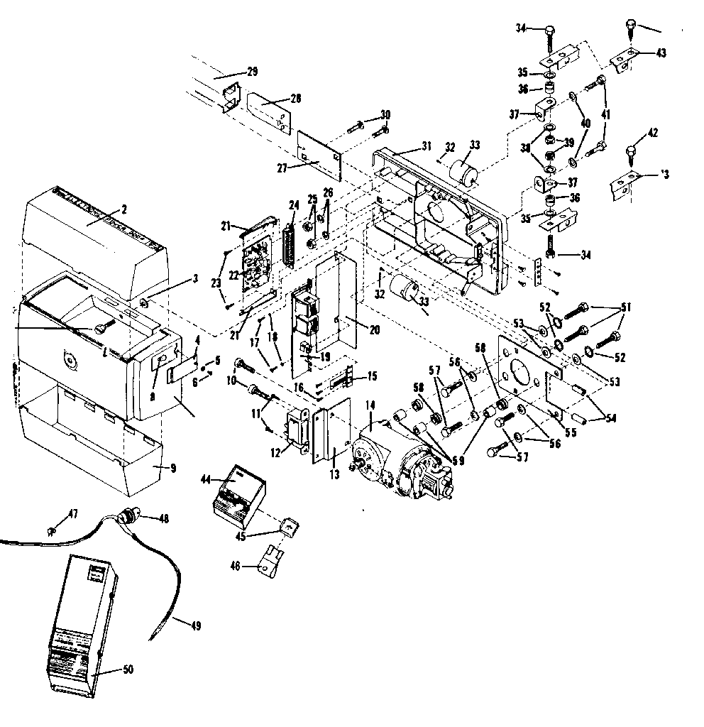 Craftsman 139659000 chassis assembly diagram