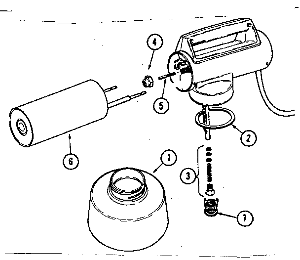 Burgess F-960 replacement parts diagram