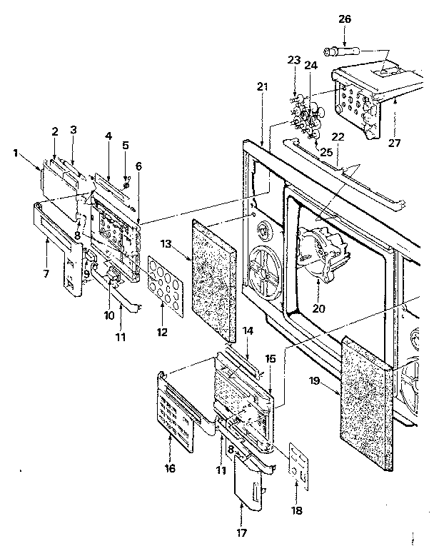 LXI 56442500150 front panel diagram
