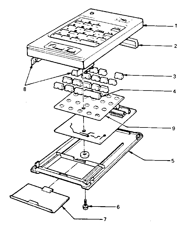 LXI 56442500150 remote control diagram