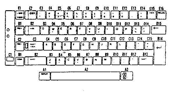 Sears 26853370 key top (a.english) others diagram