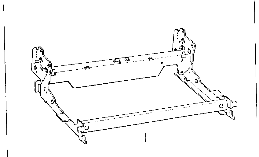 Sears 26853370 chassis diagram