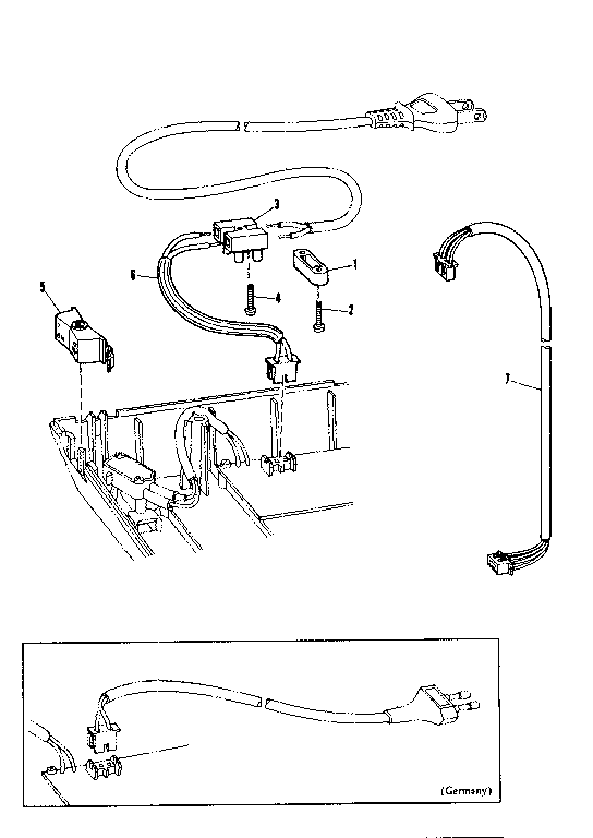 Sears 26853370 electrical component diagram