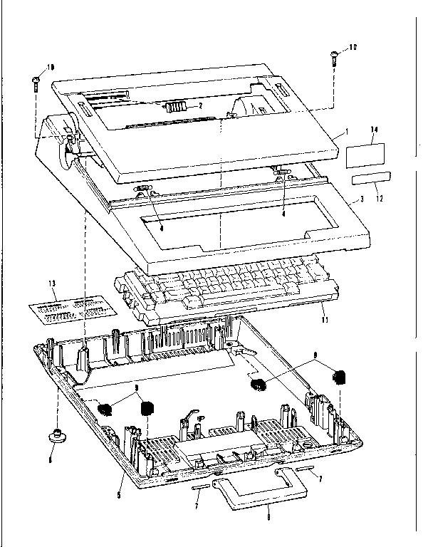 Sears 26853370 main cover & name plate diagram
