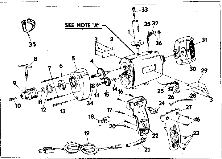 Craftsman 31511491 gear and housing assembly diagram