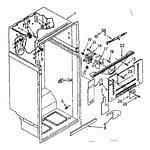 Kenmore 1068770382 liner parts diagram