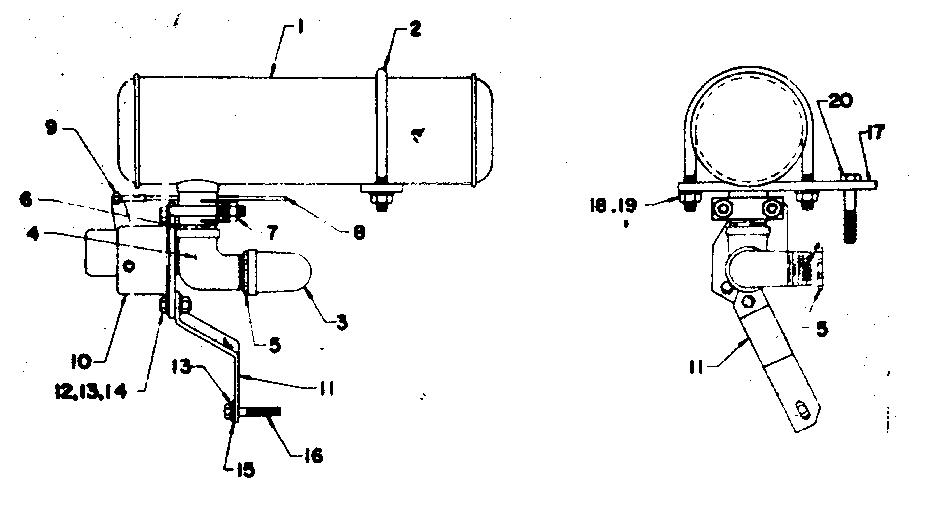 Craftsman 580320820 muffler assembly diagram