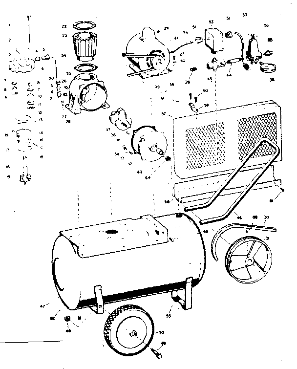 Craftsman 106151340 unit diagram