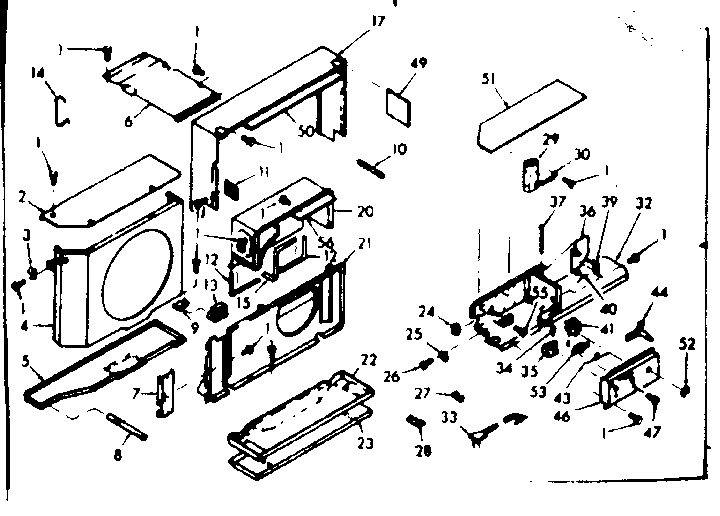 Kenmore  Coldspot Air Conditioner   Parts
