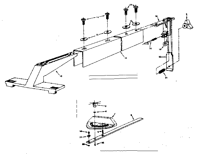 Craftsman 25965 meter gauge assembly diagram