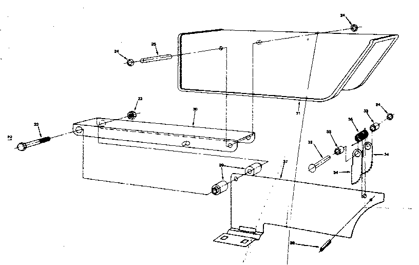 Craftsman 25965 guard assembly diagram