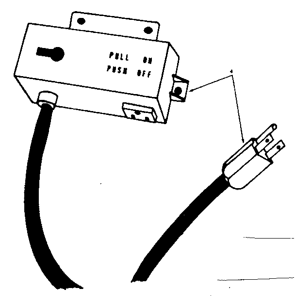 Craftsman 25965 switch box assembly diagram