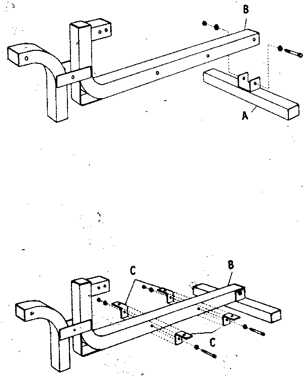 Excel 11-E0227D pad support beam assembly diagram