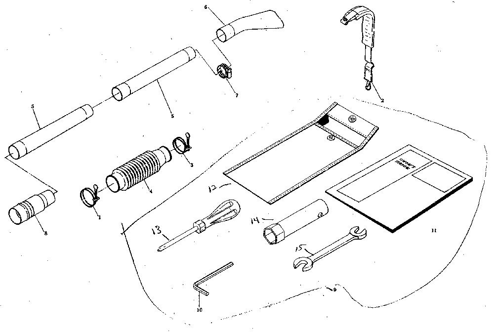 Craftsman  37.7 Cc Gas Power Blower  Figure 18