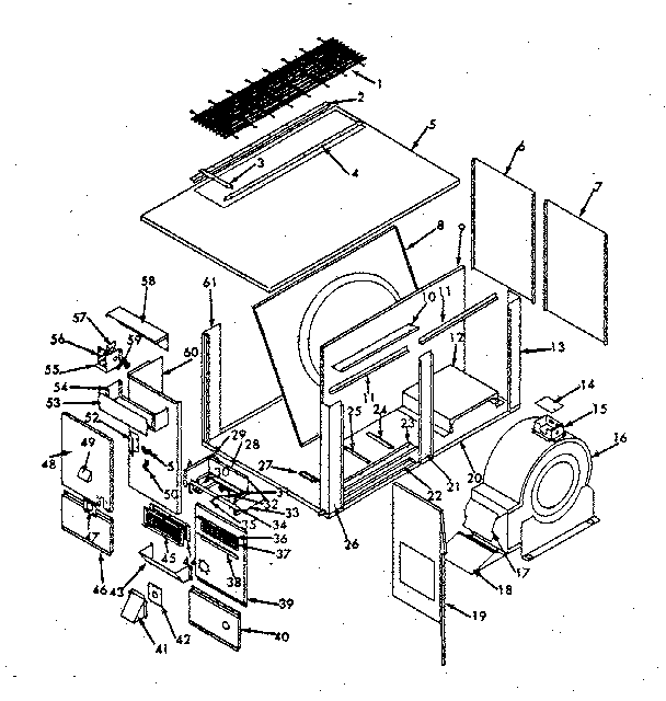 Kenmore 867815000 non-functional replacement parts/815042 diagram