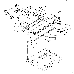 Kenmore 11082873100 console panel parts diagram