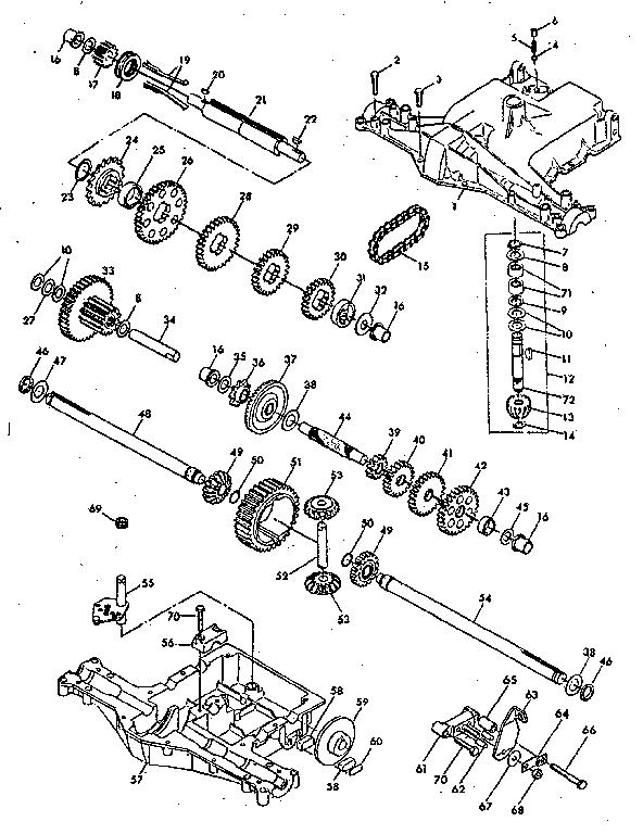 Craftsman Model 917254271 Lawn Tractor Genuine Parts