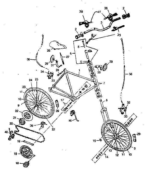 Sears 489451190 unit parts diagram
