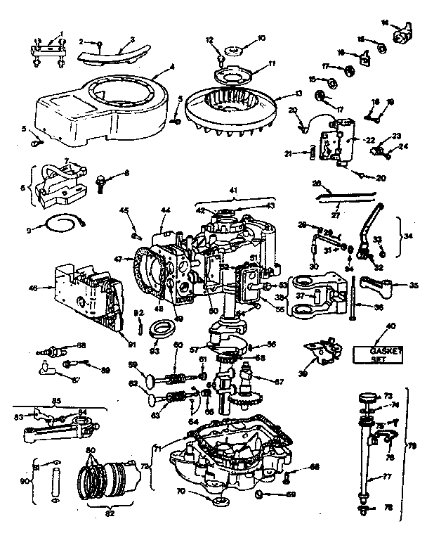 Briggs Amp Stratton Engine Schematics - Information Schematics