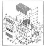 Bionaire BT-750 functional replacement parts diagram