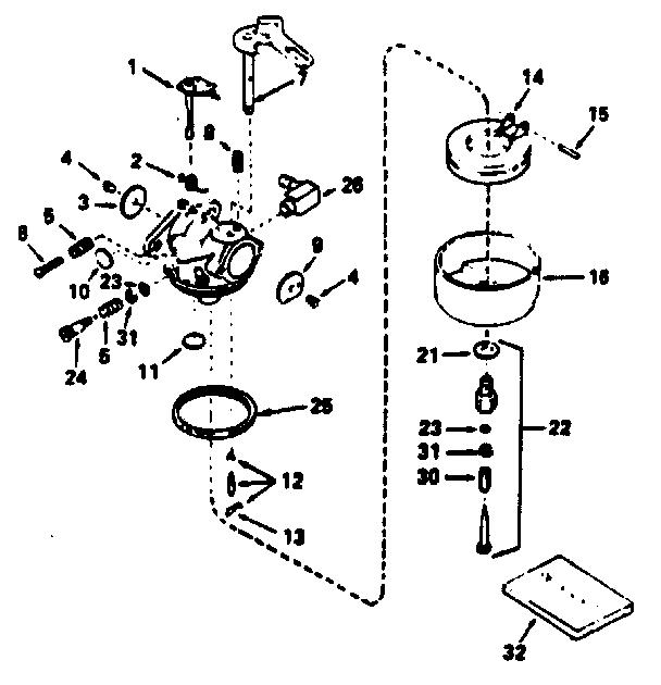 suzuki small engine carburetor manual