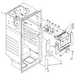 Kenmore 1068374432 liner diagram