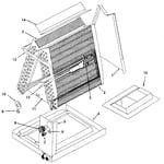 ICP EAA5060QB1 unit parts diagram