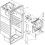 Whirlpool ET18NKXSW05 liner diagram